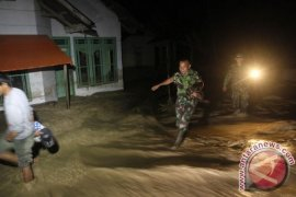 Puluhan rumah terandam banjir di Pasaman Barat