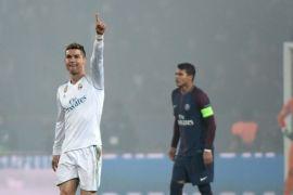 Real Madrid tembus perempatfinal, pecundangi PSG 2-1 berkat Ronaldo