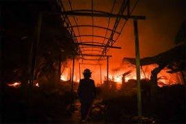 Rumah Kongsi TKI Malaysia Terbakar, Satu Tewas