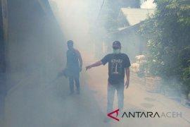 Dinkes Aceh Utara fogging Desa Samakurok