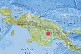 Papua Nugini kembali diguncang gempa 6,7 Skala Richter