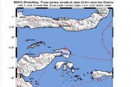Gempa 4,2 SR landa Sumatera Barat