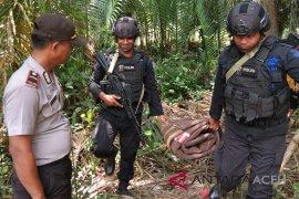 Granat aktif ditemukan warga Aceh Tamiang