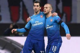 Arsenal pecundangi AC Milan 2-0 di San Siro