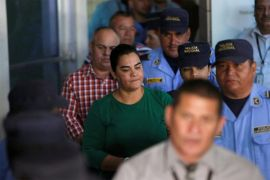 Mantan Ibu Negara Honduras Rosa Elena Bonilla divonis 58 tahun penjara