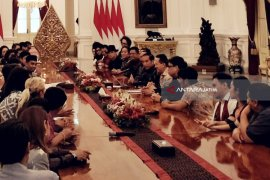 Pelaku Industri Musik Diterima Jokowi di Istana (Video)