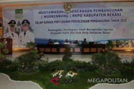 Ada 9.625 usulan  pada Musrembang Kabupaten Bekasi 2019