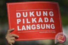 F-PPP DPR dukung evaluasi pelaksanaan Pilkada langsung