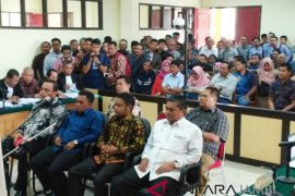 Pimpinan DPRD dijadwalkan berikan kesaksian sidang suap