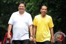Airlangga minta pengurus Partai Golkar pasang foto Jokowi