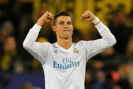 Ronaldo quattrick saat Real Madrid sikat Girona 6-3