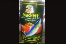 BBPOM Pekanbaru: tiga produk makarel kaleng mengandung cacing