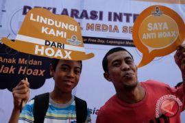 Mafindo: hoax politik dan kesehatan terbanyak