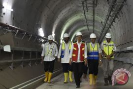 Sandiaga apresiasi perkembangan proyek MRT Jakarta