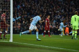 Babak pertama, City ungguli Liverpool berkat gol cepat