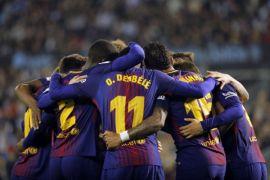 Walau ditahan imbang Celta Vigo, Barcelona cetak rekor baru