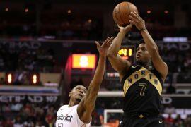 Raptors capai semifinal Timur usai bekuk Wizards 4-2