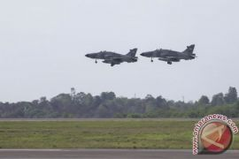 Skuadron Udara I TNI AU latihan tempur di Biak