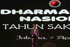 Bangsa Indonesia tetap kokoh asal bersatu