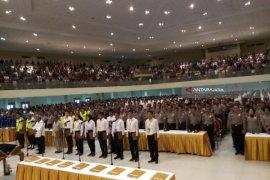 Ribuan Calon Anggota Polri Tanda Tangani Pakta Integritas (Video)