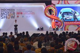 Presiden buka IIMS 2018, ingatkan perkembangan industri 4.0