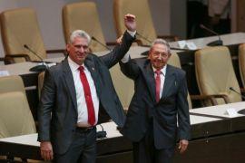 Miguel Diaz-Canel terpilih sebagai presiden baru Kuba
