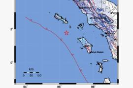 Gempa 5,1 SR guncang Aceh