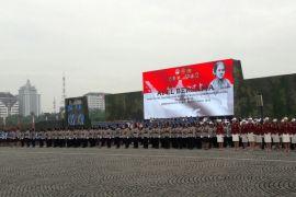 10.000 wanita TNI dan polisi apel peringati Hari Kartini