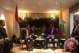 Jokowi bilateral dengan Myanmar ingin Rakhine damai