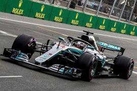 Hamilton juara GP Spanyol, memimpin 17 poin dari Vettel