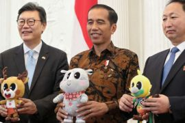 SPBU Muri menjadi tempat sosialisasi Asian Games