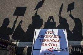 Aksi Stop Kekerasan Terhadap Jurnalis
