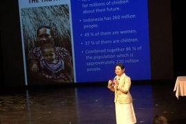 Prita bicara pendidikan pada konferensi kehumasan dunia