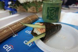 Resep mudah membuat temaki sushi
