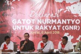 Deklarasi dukungan Gatot Nurmantyo Capres 2019