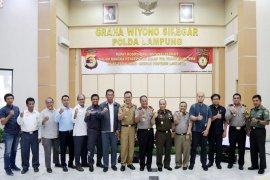 Forkopimda Lampung Lancarkan Program Jalan Tol Trans Sumatera