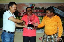 Murad Ismail juarai turnamen golf Danlanud Pattimura
