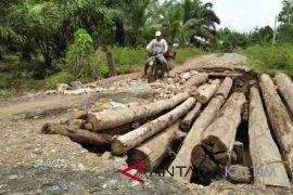 Jembatan antardesa/kelurahan Riko Penajam segera dibangun