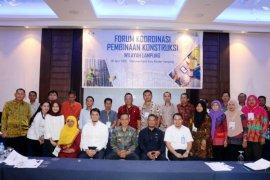 Pemprov Lampung Dorong Pembinaan Konstruksi Infrastruktur  Terstruktur