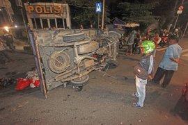 Kecelakaan akibat diduga pengendara mabuk
