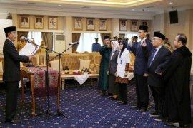 Didik Suprayitno Melantik Empat Pejabat Fungsional RSUD Abdul Moeloek