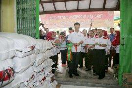 Pemprov Lampung Melaunching Toko Tani Indonesia Center