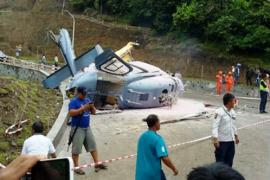Helikopter PT IMIP jatuh di Morowali