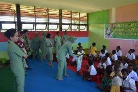 TMMD Kampung Sailala Turut Memajukan Pendidikan