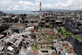 Pasukan Filipina rebut kota sesudah bentrok dengan pegaris keras
