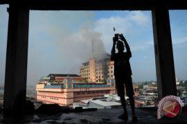 Polisi belum pastikan penyebab kebakaran Hotel Novita