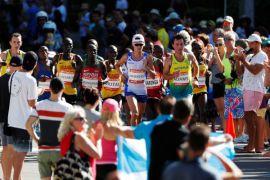 Wanita ditahan setelah tembakan di San Diego maraton