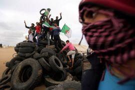 20.000 orang Palestina ikuti aksi di perbatasan Gaza-Israel