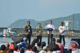 Jangan-jangan Bu Susi mau jadi presiden, kata Presiden Jokowi