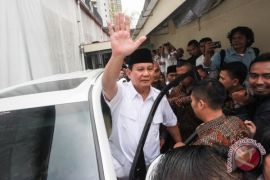 Prabowo ke DPR bahas antisipasi aksi teror